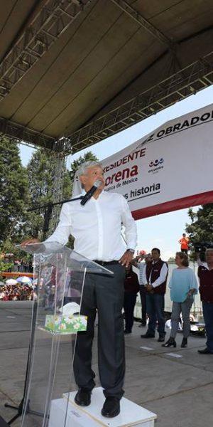 A votar parejo invita Andrés Manuel López Obrador