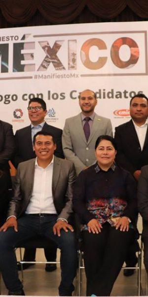 Se dan cita candidatos y candidatas la Cámara Baja en foro de Coparmex