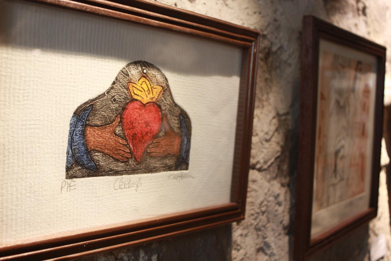 """Presentan obra """"Grabados"""" en la Galería de Arte Domingo Arenas"""