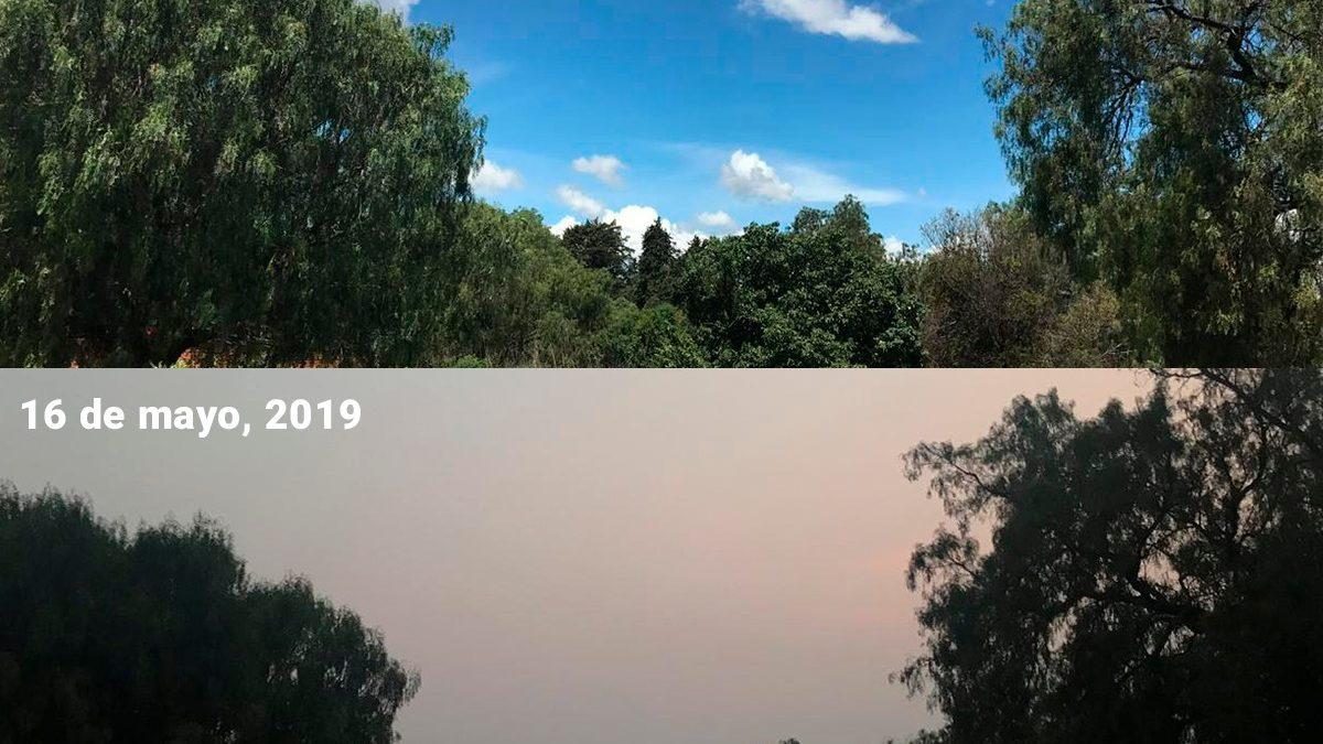 Superan niveles de contaminación en Tlaxcala al Valle de México