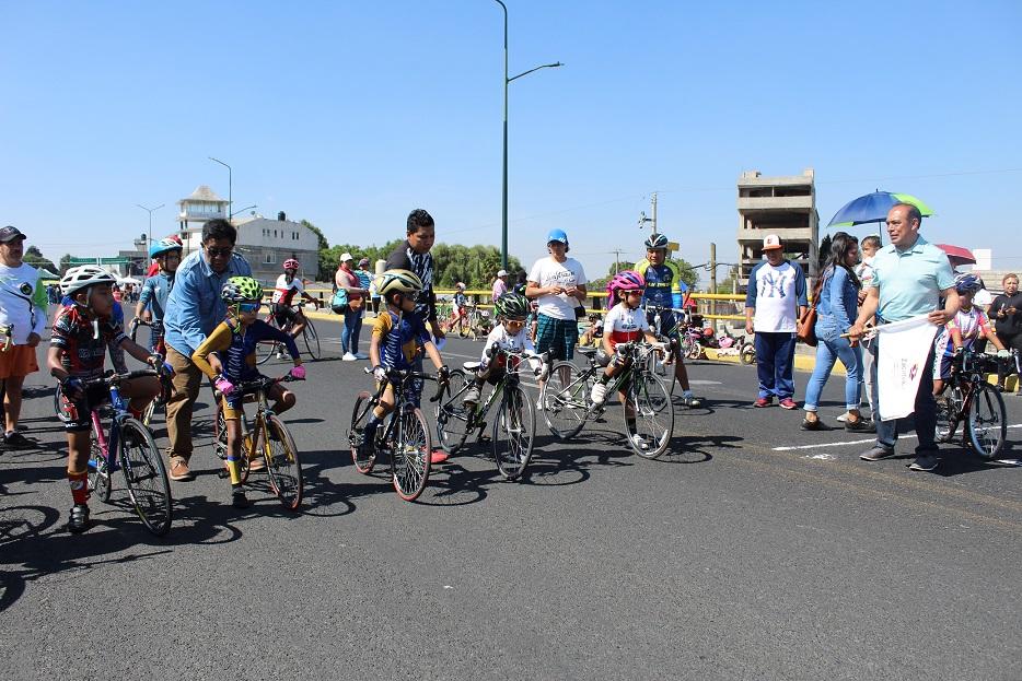 Participan CDMX, Puebla, Hidalgo y Edomex en Serial de Ciclismo en Zacatelco