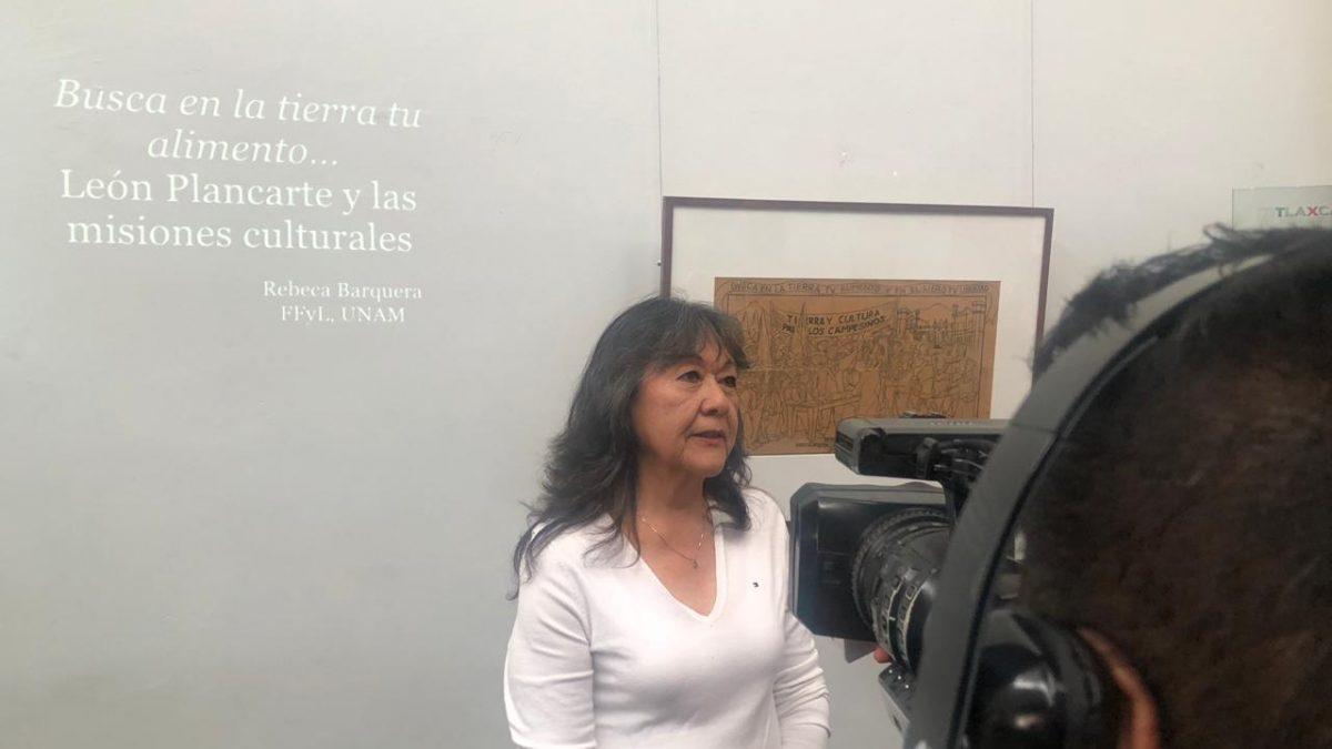 Analizan pieza de León Plancarte Silva, representante de la estampa mexicana