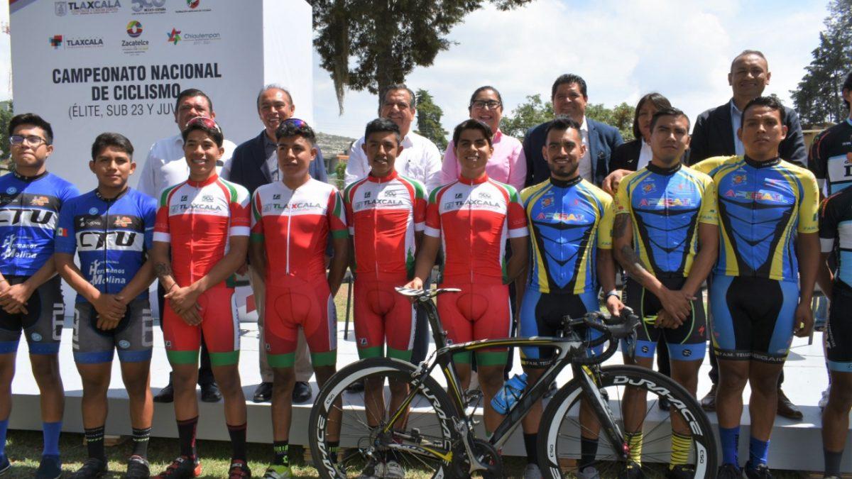 La sede del Campeonato Nacional de Ciclismo 2019 será en Zacatelco
