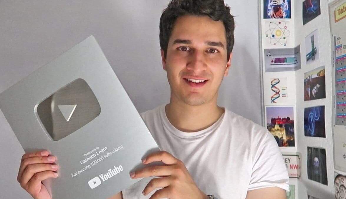 Camach Learn, llega a más de 100 mil suscriptores en YouTube canal de un tlaxcalteca sobre biotecnología