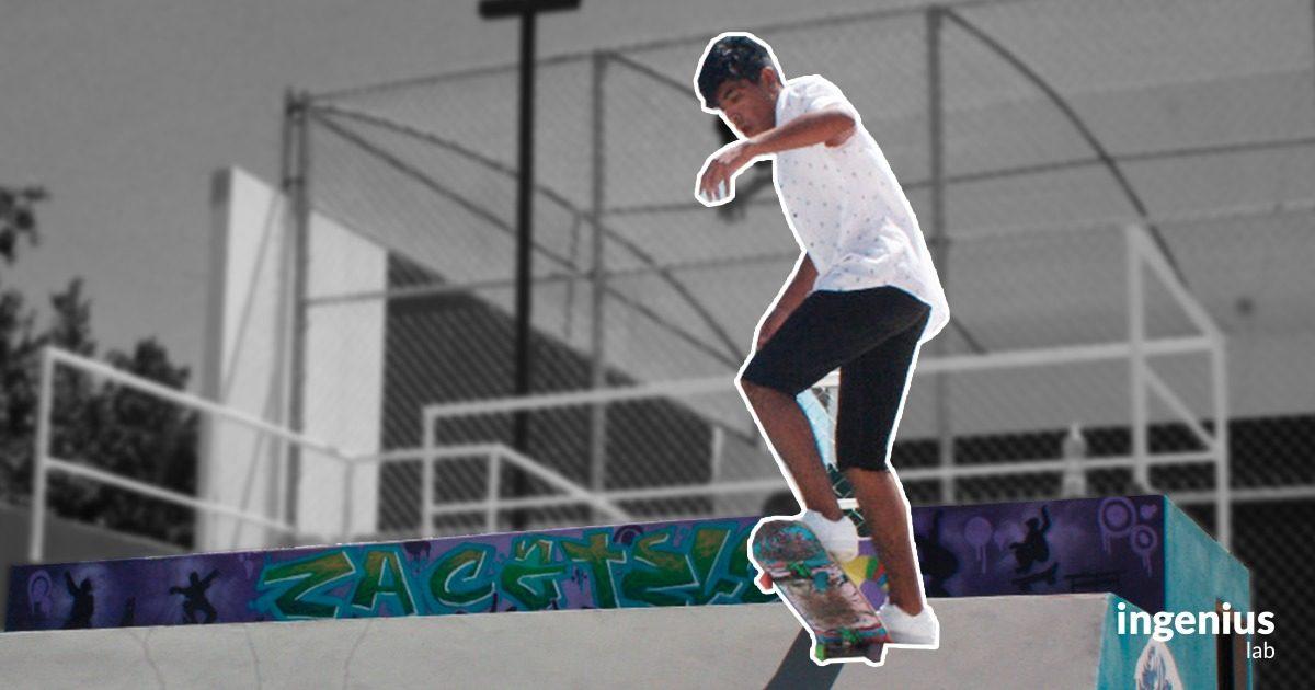 El skate en Tlaxcala puede llevar a los jóvenes a hacer una carrera deportiva