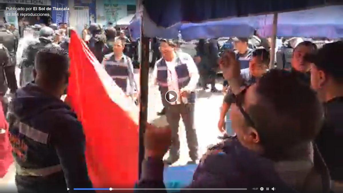 ¿Estuvo justificado o no el levantamiento de ambulantes en Apizaco?