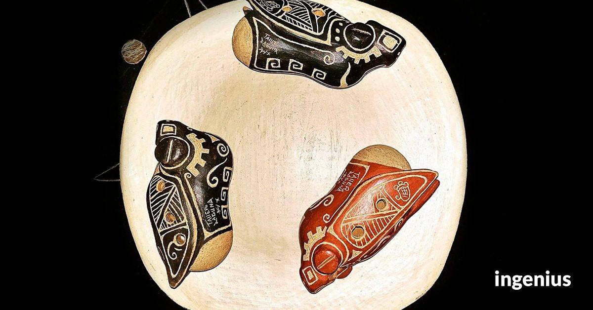 El Pato, la pieza artesanal de Atlahapa que une a la familia de Bertina Pérez
