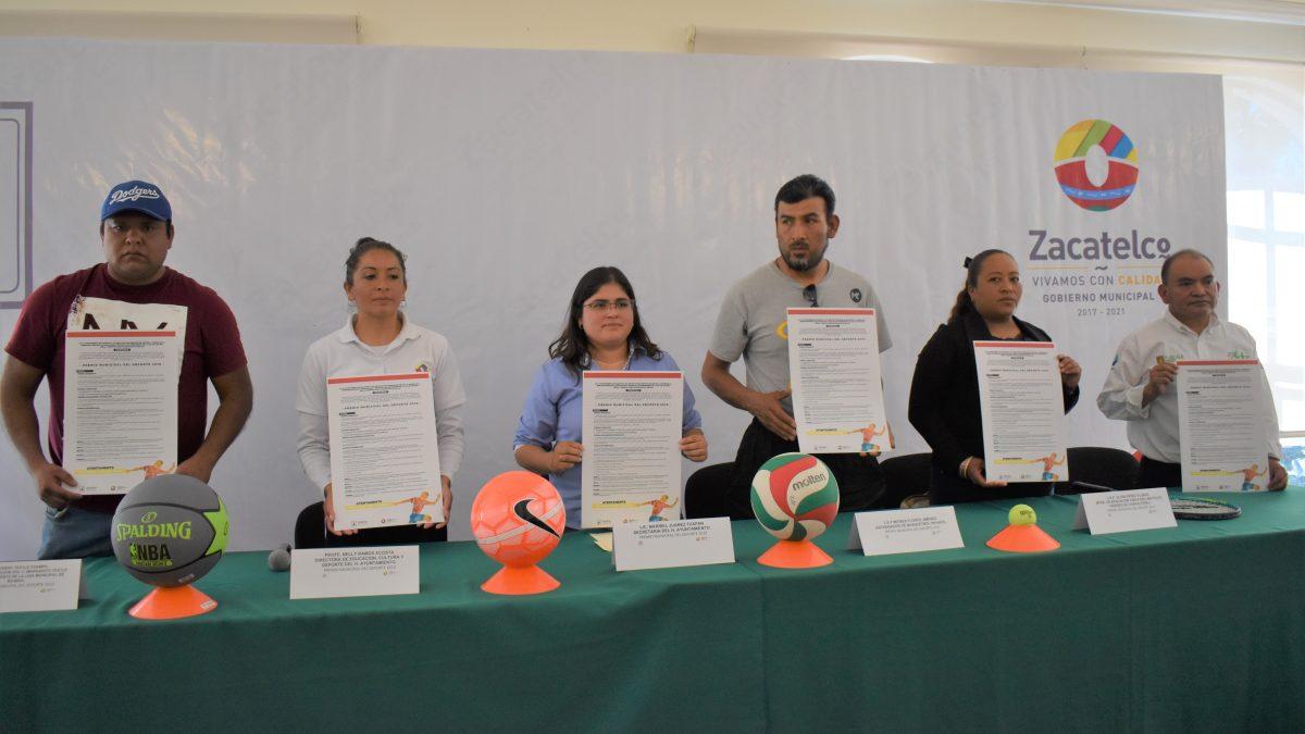 Convocan a participar en premio Municipal del Deporte en Zacatelco