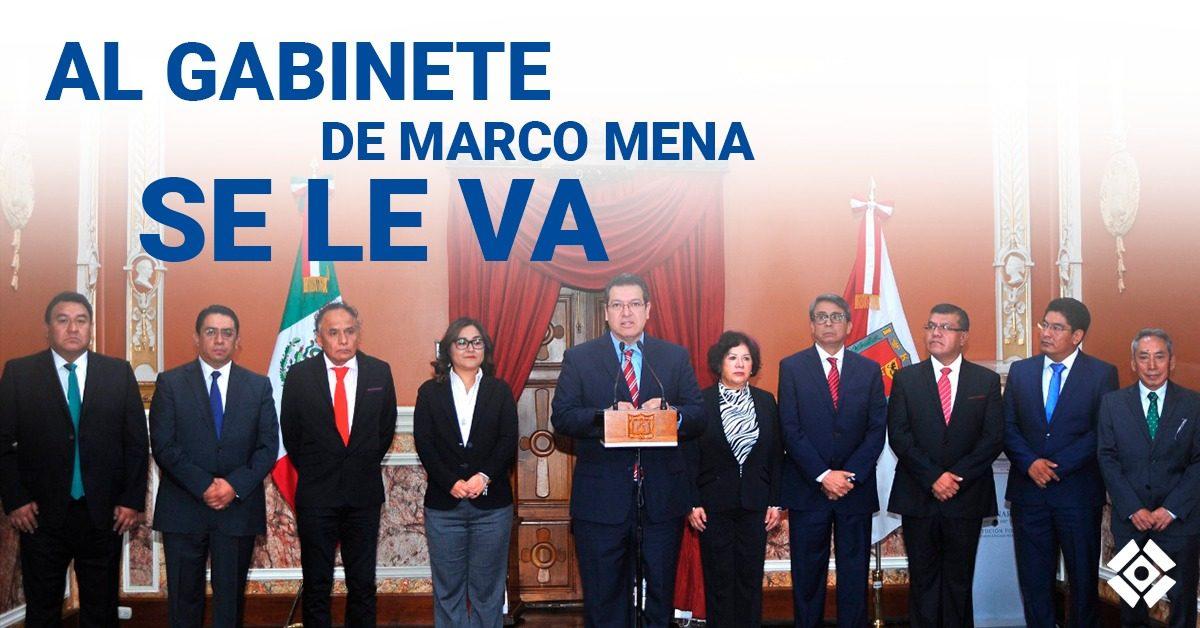 Al gabinete de Mena se le va: funcionarios se olvidan de su 3 de 3