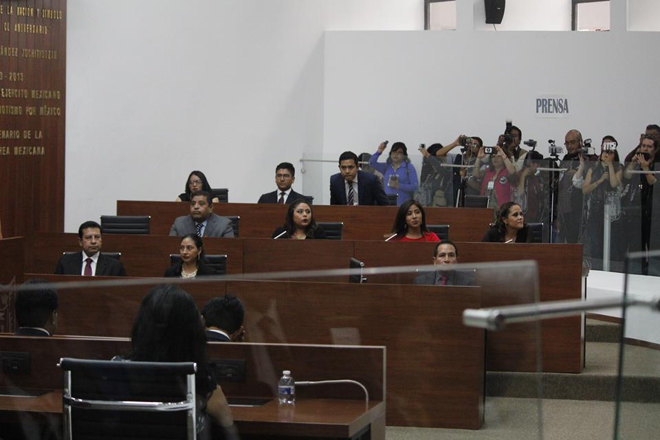 La Mesa Directiva de la LXIII Legislatura fue integrada en su totalidad por mujeres