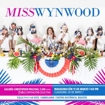 Miss Wynwood aterriza en Bogotá para presentar su campaña presidencial
