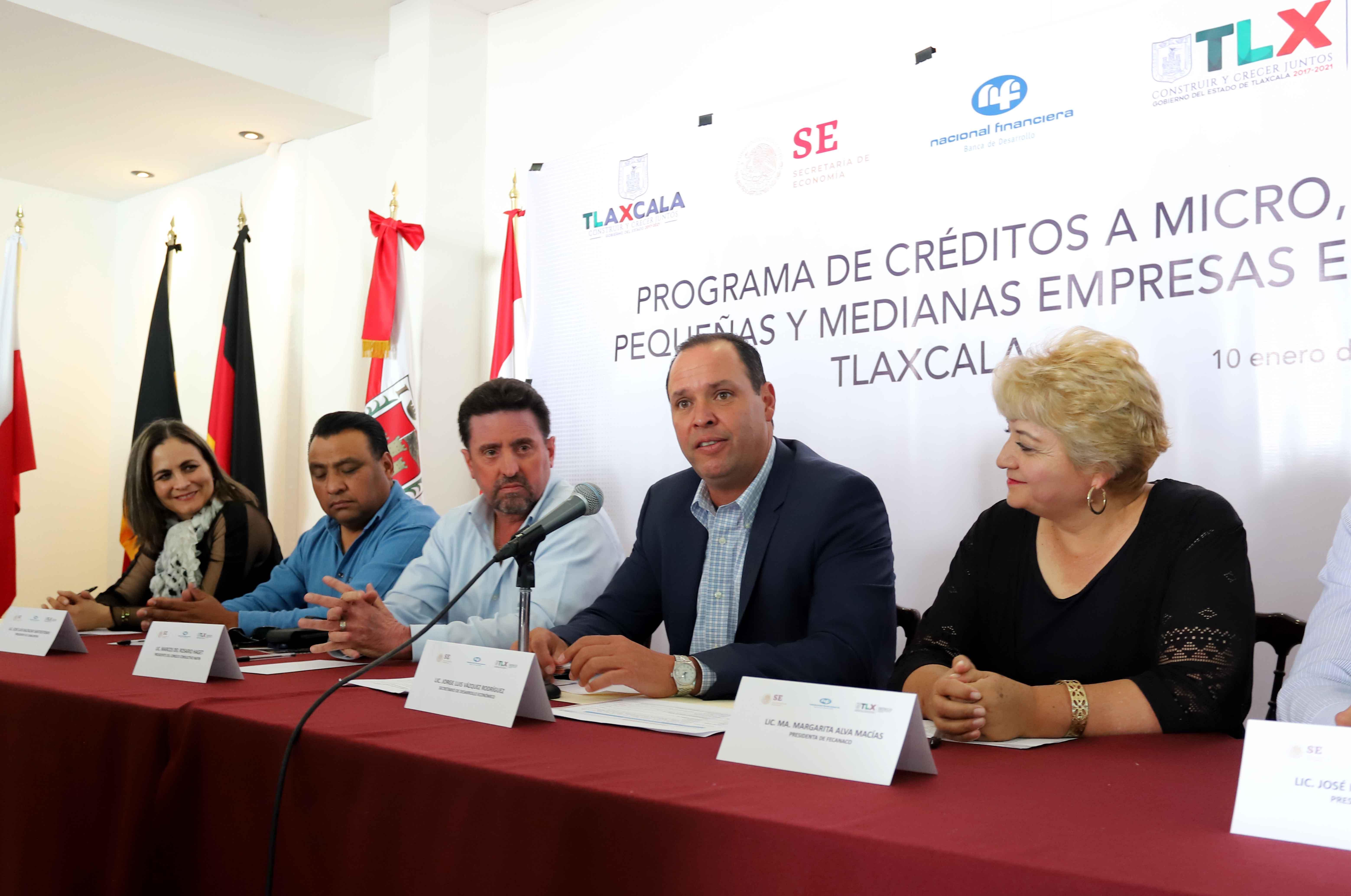 Respaldan cámaras empresariales programa de créditos de SEDECO con banca comercial