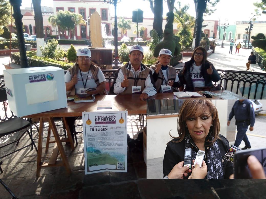 Se realiza hoy primer ejercicio de participación ciudadana sobre Termoeléctrica de Huexca