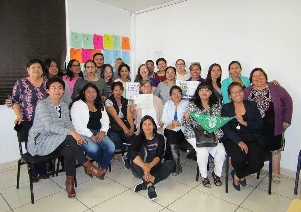 ¿Qué es la constitución violeta y cuáles son sus antecedentes en Tlaxcala?