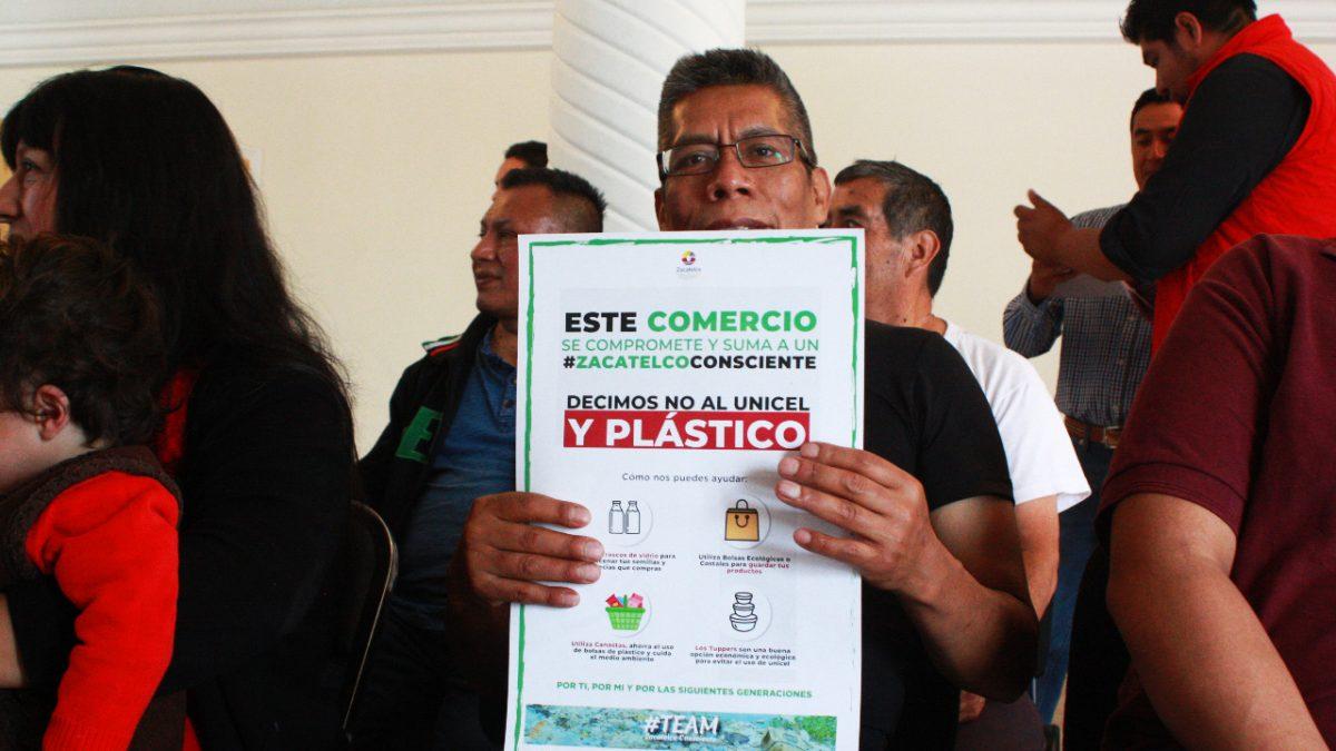 Arranca segunda etapa con comerciantes de la campaña #ZacatelcoConsciente