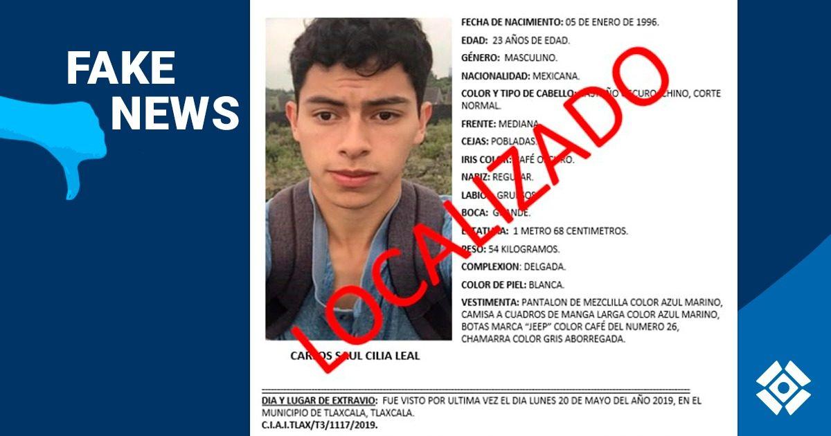 ¡No Vacacionaba! E-consulta mal informa sobre desaparición de Carlos Cilia