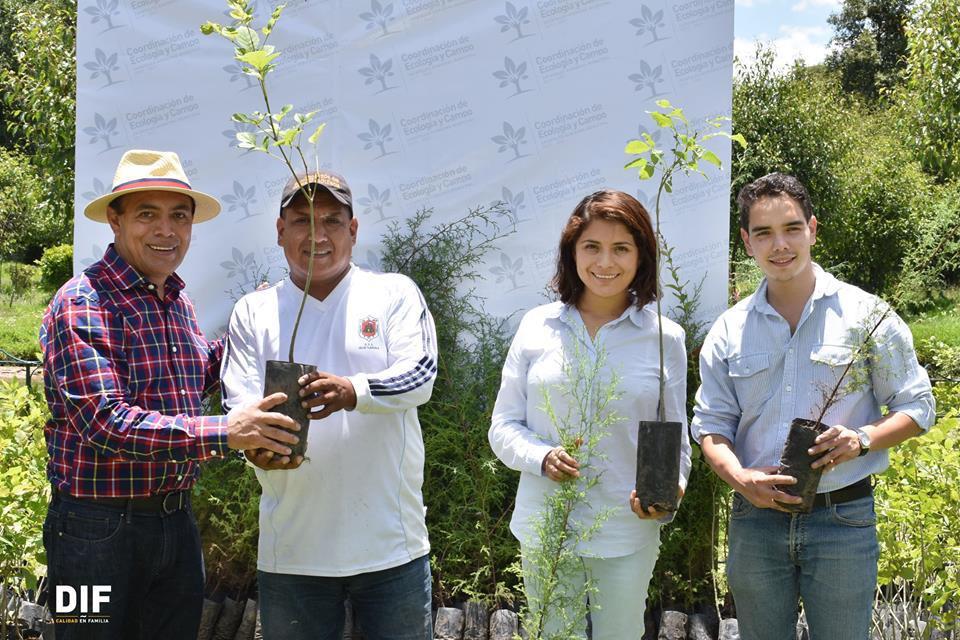 Con compromiso de adopción en estudiantes, planean reforestación en Zacatelco