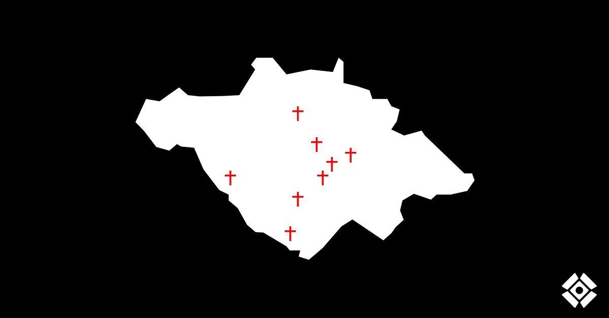 Actualización de cruces: Asesinatos desde el 15 de junio. Semana 2