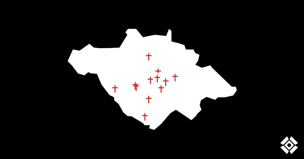 Actualización de cruces: Asesinatos desde el 15 de junio. Semana 3