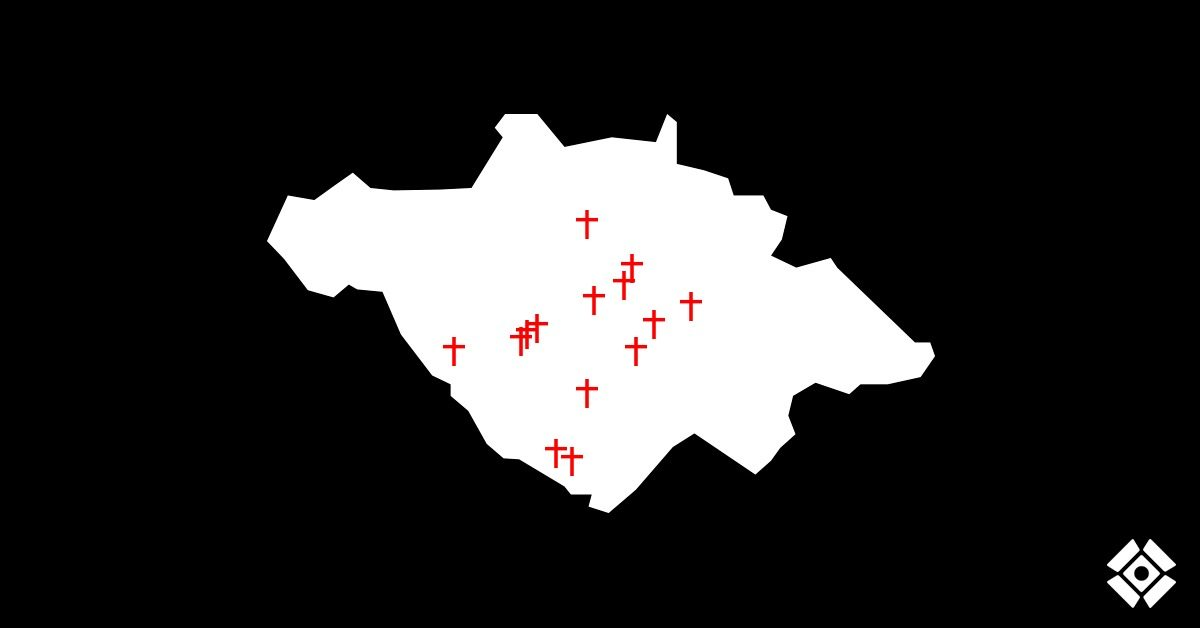 Actualización de cruces: Asesinatos desde el 15 de junio. Semana 4
