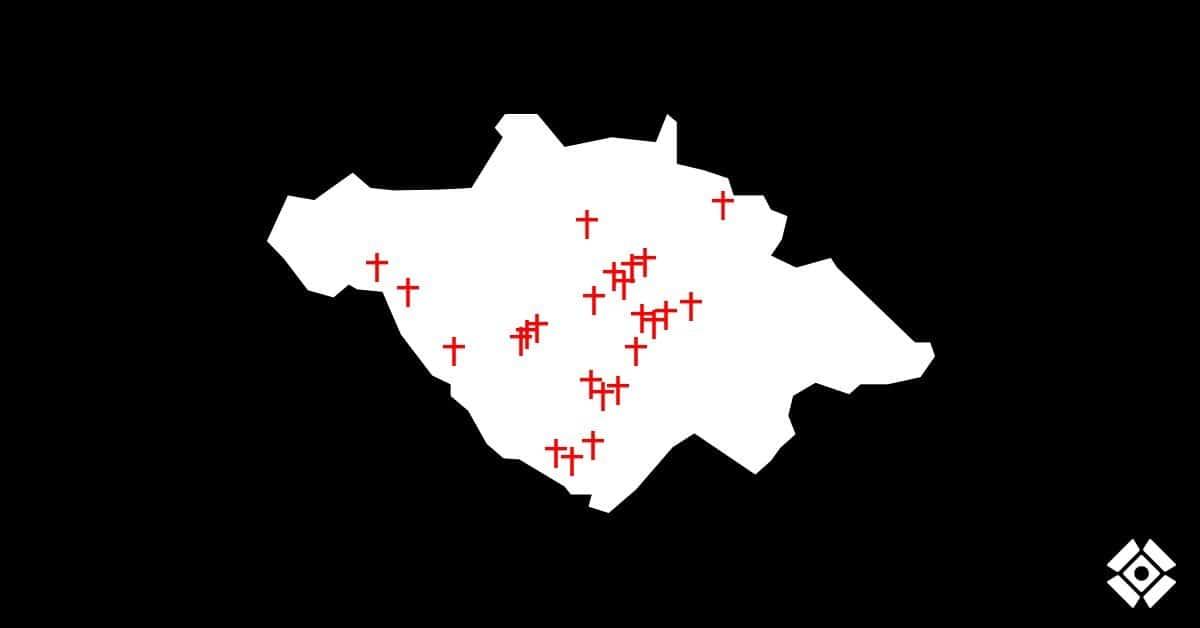 Actualización de cruces: Asesinatos desde el 15 de junio. Semana 7