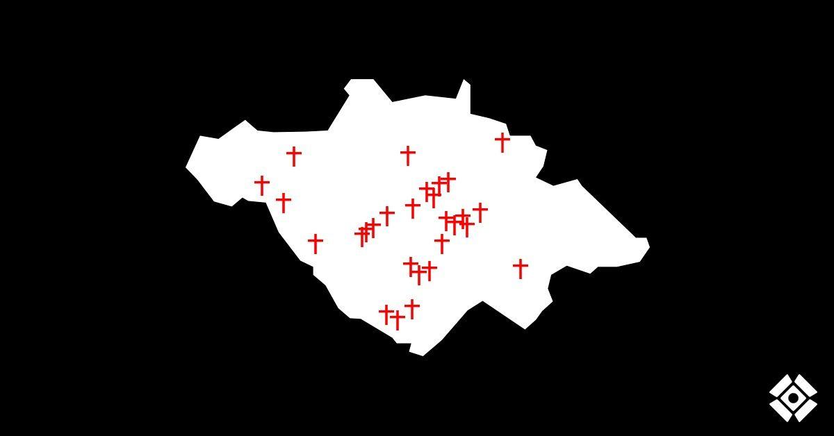 Actualización de cruces: Asesinatos desde el 15 de junio. Semana 8