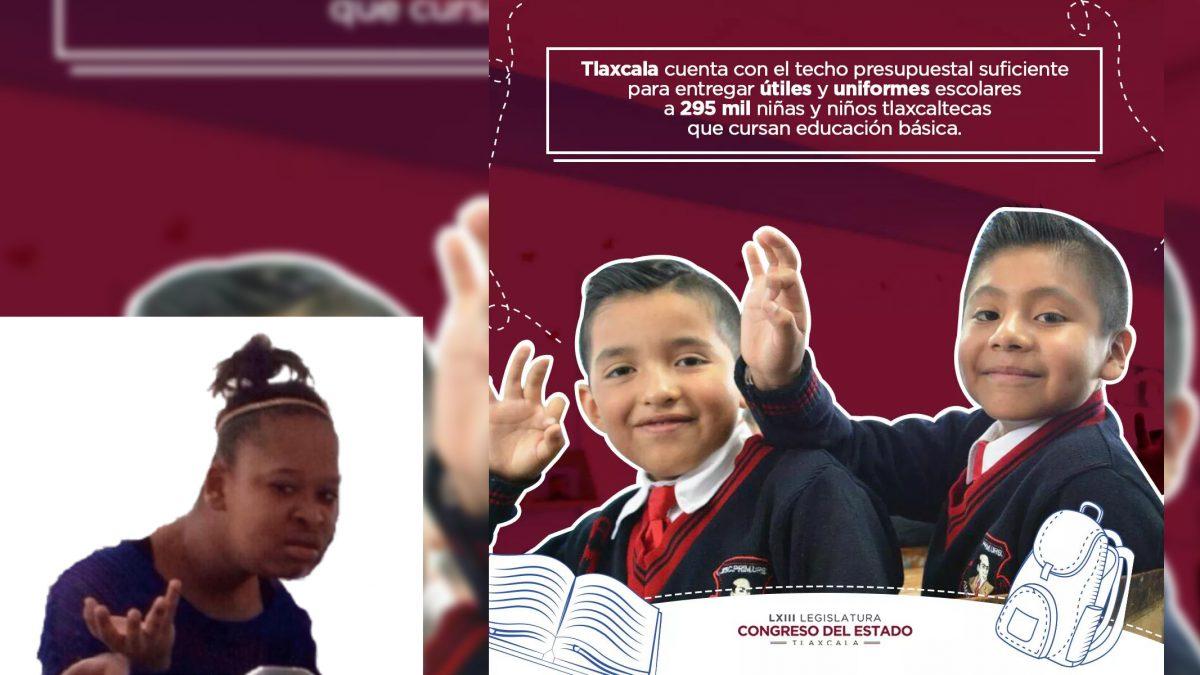 De nuevo se incumple con ley de uniformes escolares en Tlaxcala