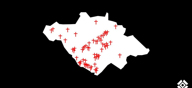 Cruces Asesinatos semana 14