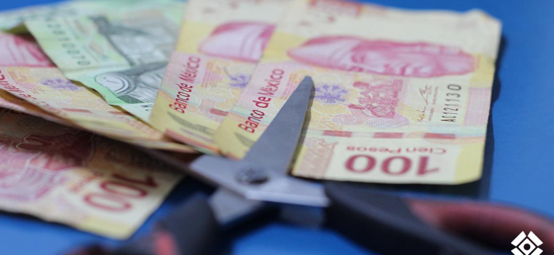 Dinero Recorte presupuestal
