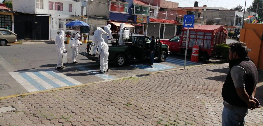 Acciones de Sanitización en espacios públicos 6