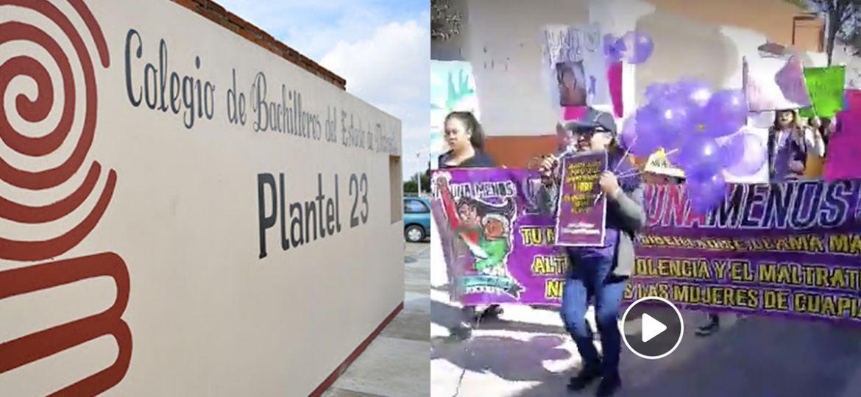 Cobat-Denuncia-Alumnas-Represión-Cuapiaxtla-8M
