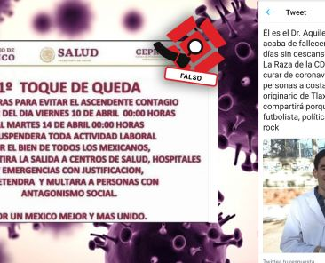 Coronavirus-Covid-19-Doctor-Huamantla-Muerte-Toque-De-Queda-Fact-Ckecking-Fake-News