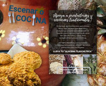 Cocina-Escenario-Gastronomía-Recetas-Tradiciones-Cocinera-Tradicionales-Gastronomía-Galletas-Atole-Nopal