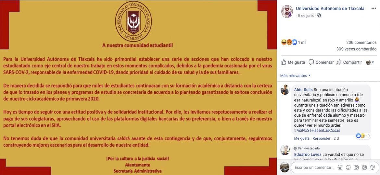 UATx-Covid-19-Coronavirus-Contingencia-Sanitaria-Cuotas-Universitarias-Estudiantes