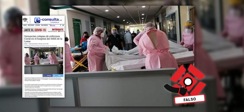 Verificación-Imagen-Transporte-Combis-Fact-Checking-Falso-Ocupación-Hospitalaria