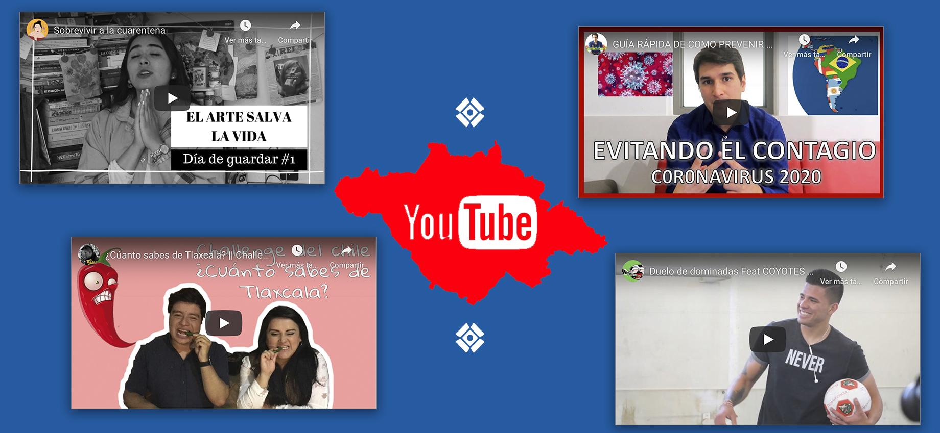 4 canales de YouTube