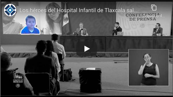 """Santi, un niño tlaxcalteca con """"Síndrome mielodisplásico"""""""