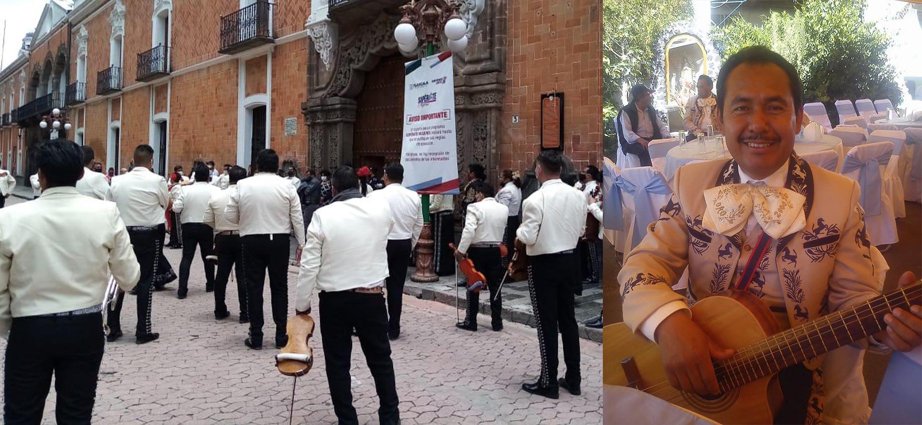 Mariachis se manifiestan