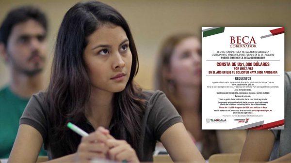Estudian en el extranjero-Tlaxcala-SEPE-Beca-Gobernador-Educación