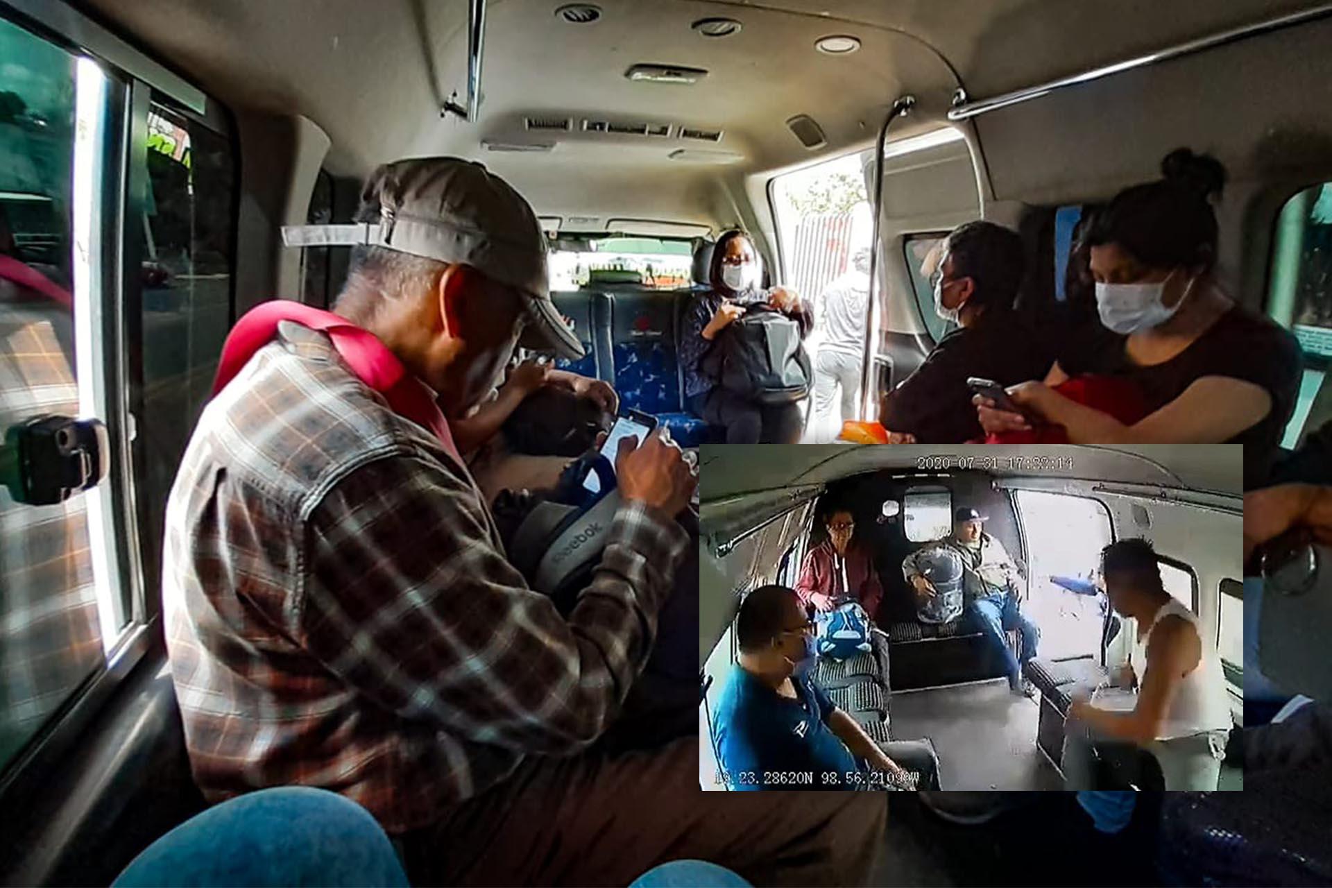 Asaltos en transporte público