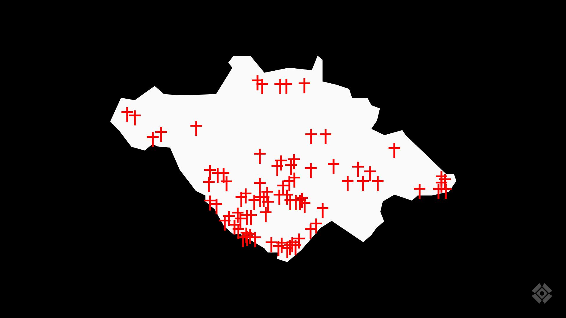 Actualización de cruces - Tlaxcala