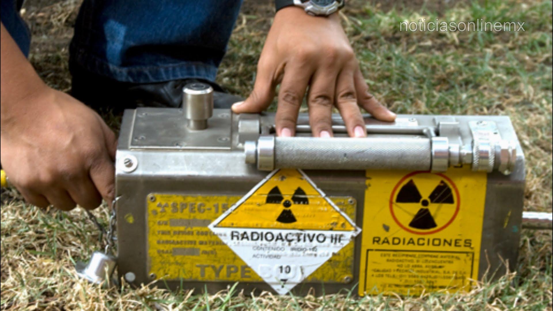 material radioactivo-Tlaxcala-Iridio-192