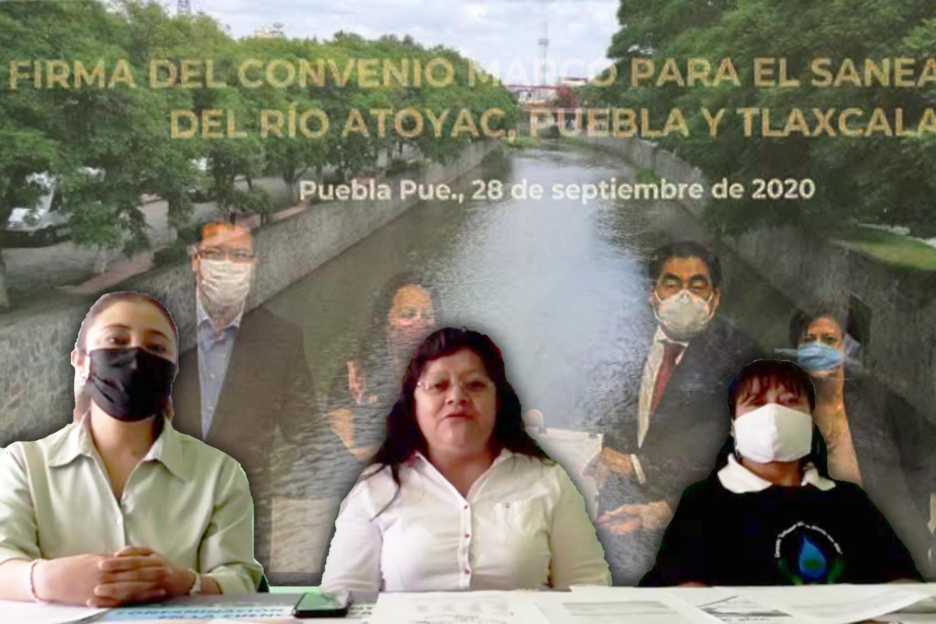 Centro Fray Julián Garcés de Derechos Humanos-Tlaxcala-Convenio-Saneamiento Atoyac-Zahuapan-Barbosa-CONAGUA