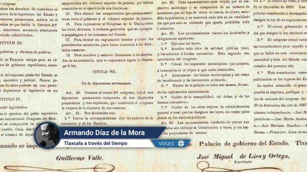 Constitución-Tlaxcala-Historia-Guillermo Valle- Lira y Ortega