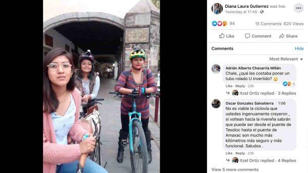 ciclovía San Francisco-Tlaxcala-Colectivo Ciclista Emergente Tlaxcala