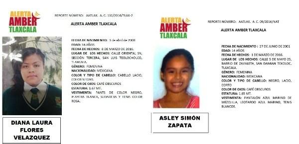 Alerta Amber-Tlaxcala