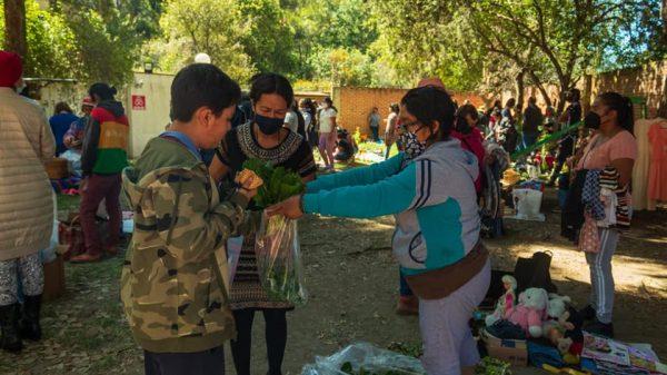 Tianguis del trueque-Tlaxcala