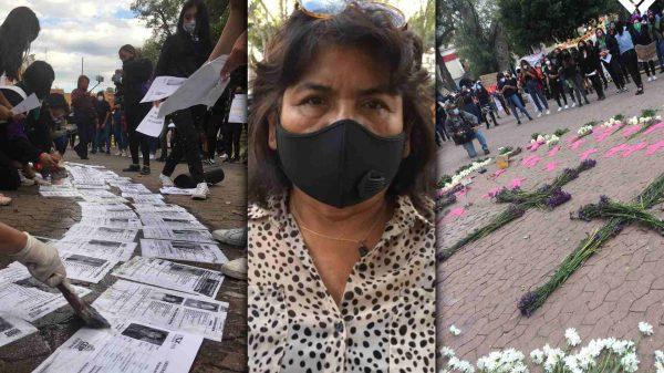 Daniela-Sandra-Mujeres desaparecidas-Día violencia contra la mujer-Tlaxcala-madres