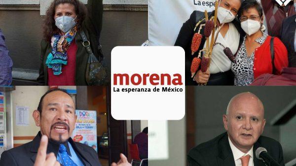 Morena-elecciones 2021-Tlaxcala-Gubernatura-Internas-Ana Lilia-Senadora-Dulce Silva-Lorena Cuéllar