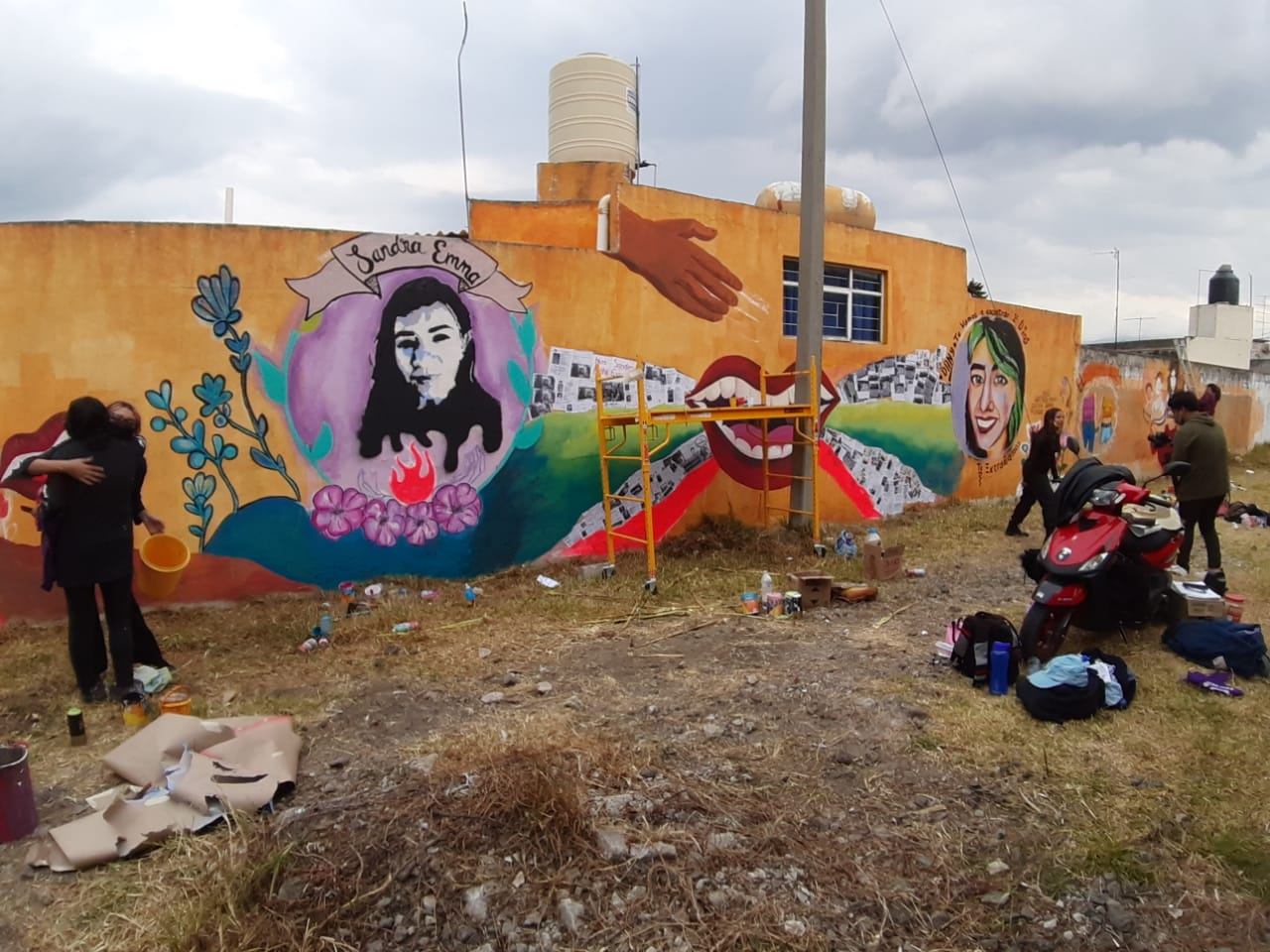 mural-Tlaxcala-Sandra Emma-Daniela Muñoz-Cultura-Prania-Rapera-Rap